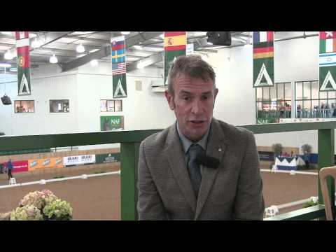 Judge Mark Ruddock's winter dressage reaction: 'More Valegros coming along' [VIDEO]