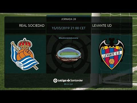 Calentamiento Real Sociedad vs Levante UD - Thời lượng: 38 phút.