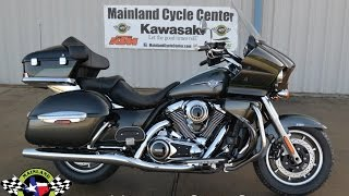 7. $17,499:  2017 Kawasaki Vulcan 1700 Voyager Gray / Black Overview & Review