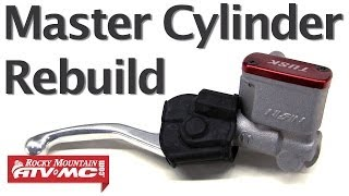 6. How To Rebuild A Master Cylinder On A Motorcycle Or ATV