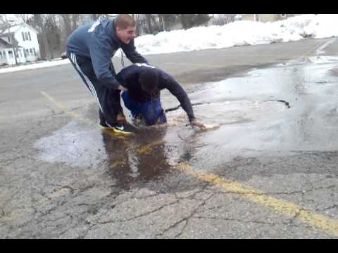 New Shoes vs. Puddle -Video