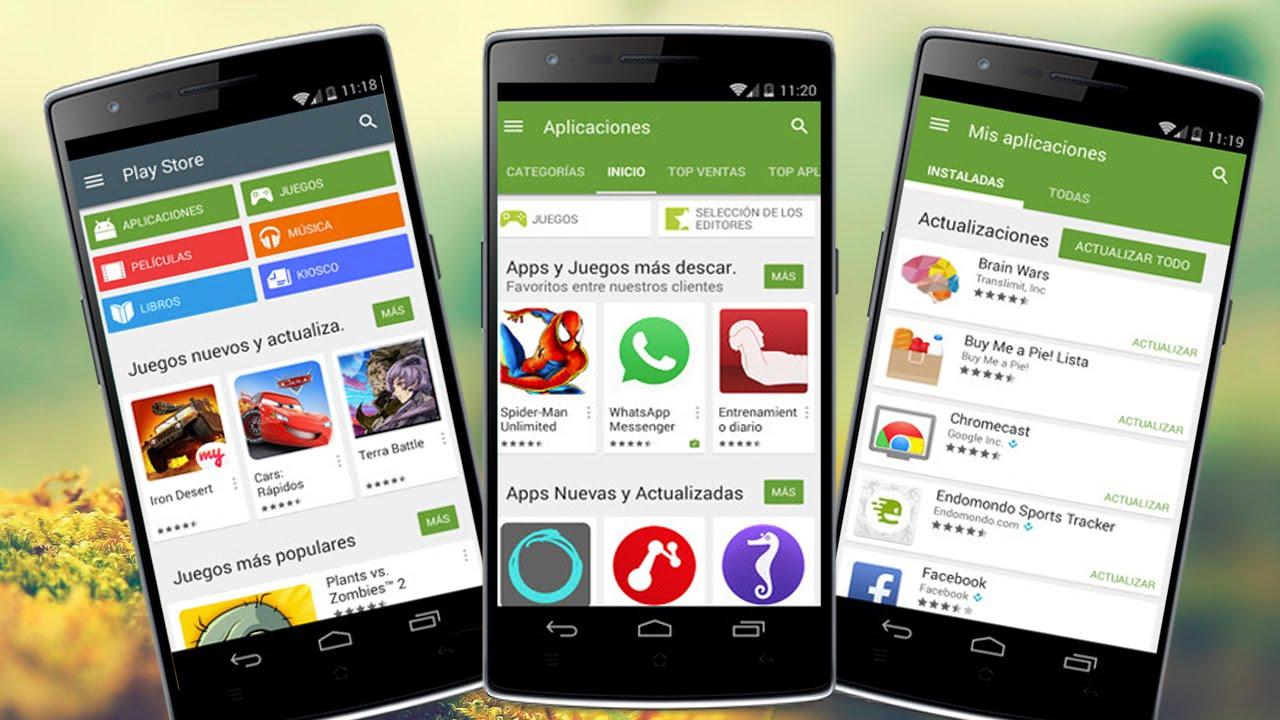 Descargar e Instalar Play Store 5.0 en Cualquier Android | Ultima Version en Español 2015