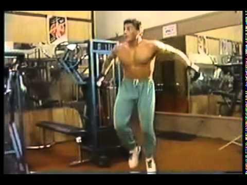 Jean Claude Van Damme en 1988