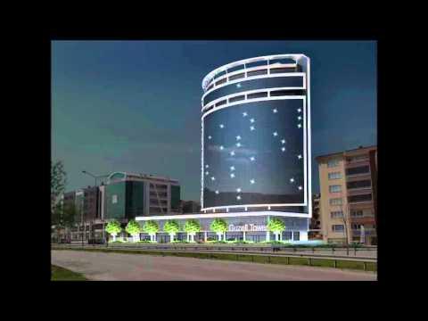 Guzell Tower Lighting Project - Aydınlatio   Mimari Aydınlatma Tasarımı