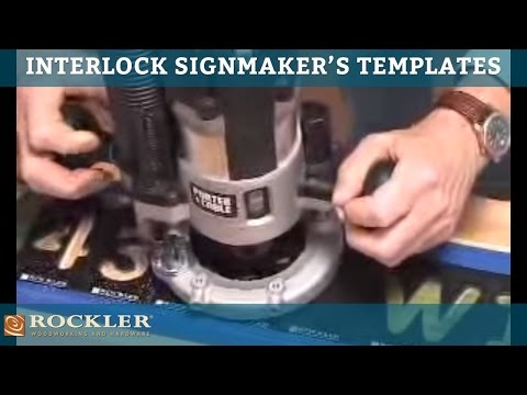 Interlock Signmaking Templates