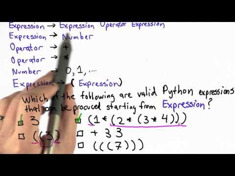 Lösung von Python Ausdrücke - CS101 - Udacity