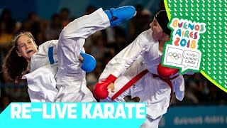 RE-LIVE | Day 12: Karate | Youth Olympic Games 2018 |Buenos Aires