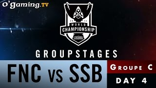 World Championship 2014 - Groupstages - Groupe C - FNC vs SSB