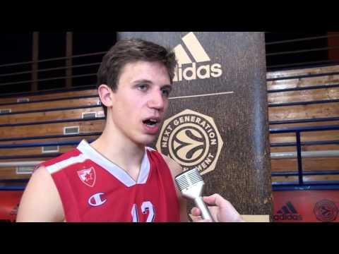 ANGT Belgrade Interview: Aleksa Radanov, Crvena Zvezda Telekom Belgrade