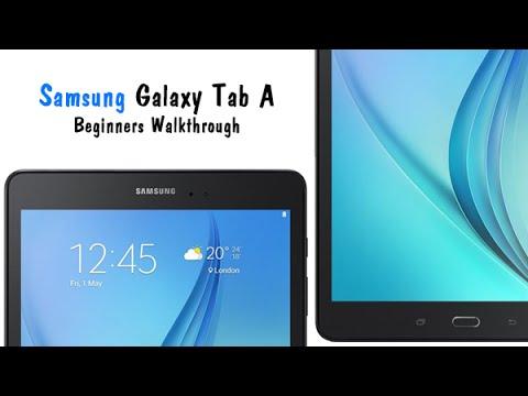 Samsung Galaxy Tab A for Beginners (Walkthrough)   H2TechVideos