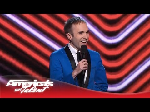 Taylor Williamson - Comedian Talks About His Awkward Dating Life - America's Got Talent 2013 Finals