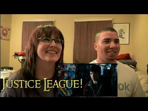 MOM AND SON'S REACTION TO! Justice League Official Comic-Con Trailer (2017) Ben Affleck Movie