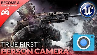 In today's episode we take a look at how we can setup the true first person camera by converting the third person camera to first person, giving us a realistic look and feel to our FPS game.We also take a look at setting up our project and adding the animation starter pack to it!Unreal Engine 4 Beginner Tutorial Series:https://www.youtube.com/playlist?list=PLL0cLF8gjBpqDdMoeid6Vl5roMl6xJQGCBlueprints Creations Serieshttps://www.youtube.com/playlist?list=PLL0cLF8gjBpoojQ7YqsSsxycBe5S3ikkV► Next VideoIn the next video we'll continue to bring our shooter game to life.♥ Subscribe for new episodes weekly! http://bit.ly/1RWCVIN♥ Don't forget you can help support the channel on Patreon! https://www.patreon.com/VirtusEduVirtus Learning Hub // Media● Facebook Page - https://www.facebook.com/VirtusEducation●Twitter Page - http://www.twitter.com/virtusedu● Website - https://www.virtushub.co.uk