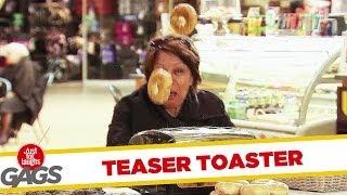 Teaser Toaster Prank