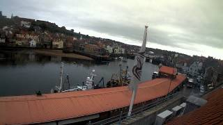 Whitby Sun 31st May 2015 24-Hour Time-lapse (Upriver)