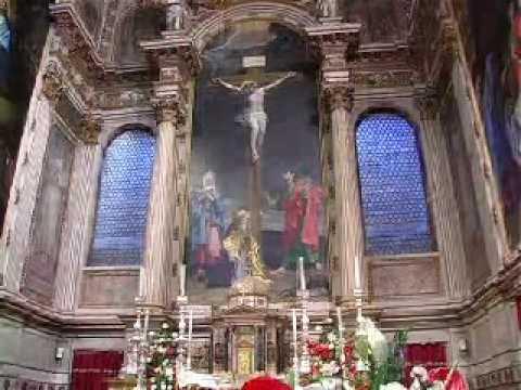 San Girolamo della Certosa: la Crocifissione