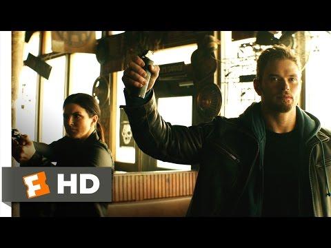 Extraction (2015) - Biker Bar Brawl Scene (3/10) | Movieclips