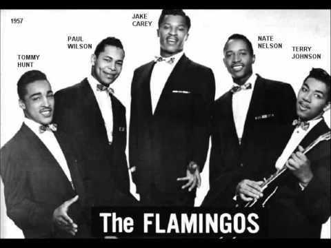 Tekst piosenki The Flamingos - Time Was po polsku