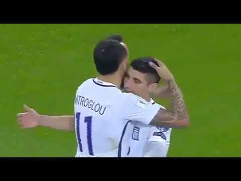 Greece vs Gibraltar 4-0 (GOALS HIGHLIGHTS) FIFA World Cup 2018 Qualification UEFA