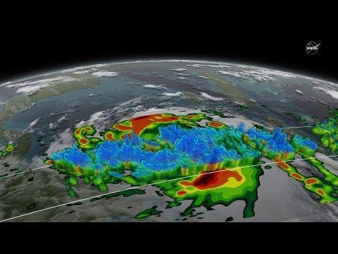 Hurricane Matthew in 3-D