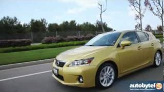 2012 Lexus CT 200h Video Road Test&Luxury Hybrid Car Review