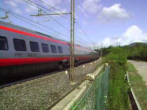 New Pendolino ETR 600 near Florence, Italy #2