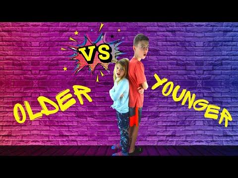 Younger vs Older Sibling!!!