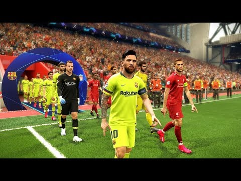 Liverpool Vs Barcelona (2nd Leg) UEFA Champions League 2019 Gameplay