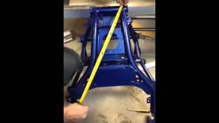 7. Yamaha Nytro's subframe measurements