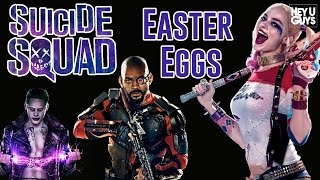 Suicide Squad Easter Eggs, Cameos & References Explained