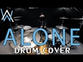 Download Lagu Alone - Alan Walker - Drum Cover - Ixora (Wayan) Mp3 Free