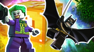 THE LEGO BATMAN MOVIE LUCKY BLOCK MOD CHALLENGE | Minecraft - Lucky Block Mod
