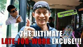 Video The Ultimate Late-For-Work Excuse!!! MP3, 3GP, MP4, WEBM, AVI, FLV Desember 2018