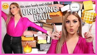 new makeup, free stuff & a GIVEAWAY! 😅 PR HAUL UNBOXING by Shaaanxo