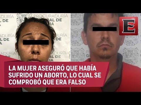 Detienen a pareja por homicidio de joven embarazada