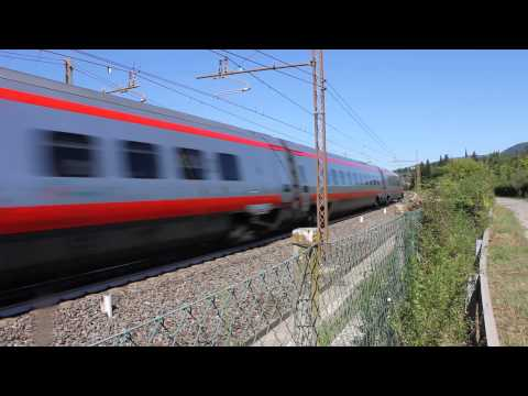 New Pendolino ETR 600 near Florence, Italy #5