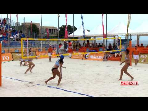 Brazilian women's volleyball team are queens of Monte-Carlo