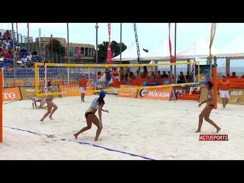 Les volleyeuses brésiliennes reines de Monte-Carlo