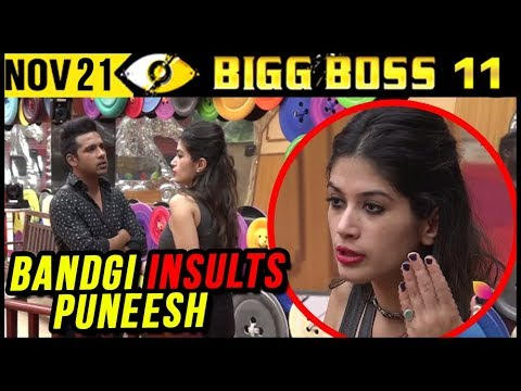 Bandgi INSULTS Puneesh For Talking To Hina Khan |