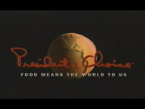 1997 President's Choice Commercial - Food Means The World To Us