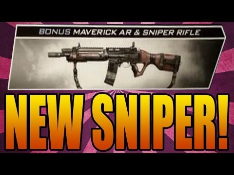 Call of Duty: Ghosts NEW SNIPER! Map Pack 1 Maps ...