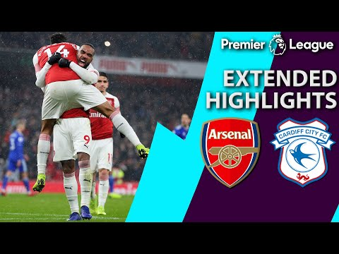 Video: Arsenal v. Cardiff City | PREMIER LEAGUE EXTENDED HIGHLIGHTS | 1/29/19 | NBC Sports