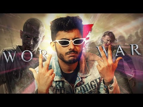 CARRYMINATI GETS DRAFTED INTO WORLD WAR Z | NO SUPERCHAT, SORRY