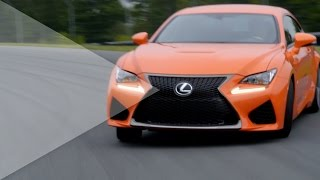 2015 Lexus RC F - First Driving on Racetrack