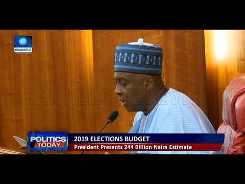 Political Round-Up: 2019 General Elections Will Cost N242.4bn, Buhari Tells NASS |Politics Today|