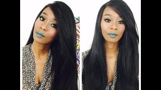 - THE STYLIST SYNTHETIC LACE FRONT WIG 4X4 SWISS LACE SILK TOP SWISS GODDESS LINK TO HAIR - http://www.samsbeauty.com/service/product/0/86781312/The-Stylist-...
