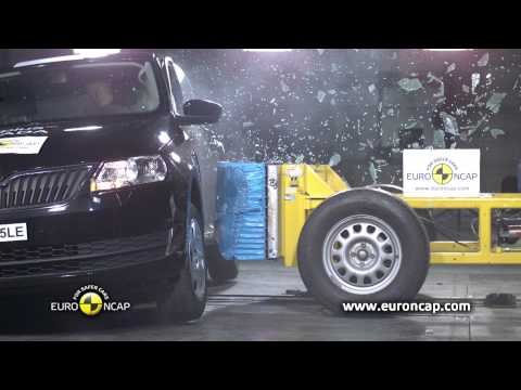 Škoda Rapid 2012 CrashTest