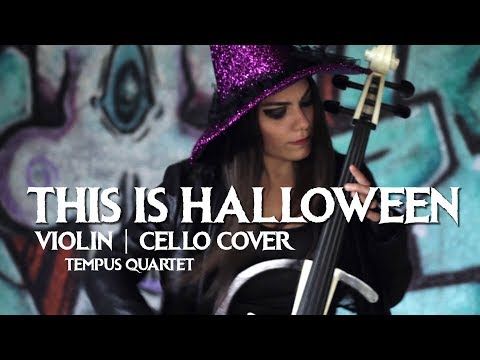 THIS IS HALLOWEEN -the nightmare before christmas (violin & cello cover)