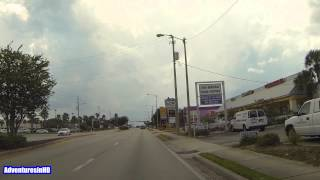 Winter Haven (FL) United States  city images : Winter Haven Florida Cypress Gardens Boulevard Driving Video