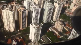 Congonhas Airport (CGH), São Paulo Brazil Landing. GOL Airlines, Boeing 737-800